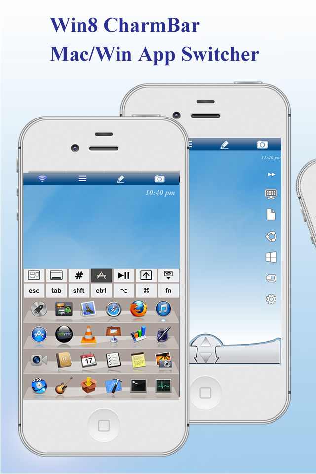 Mouse & Remote (Mobile WiFi Remote/Mouse/Trackpad/Keyboard) for iPhone.