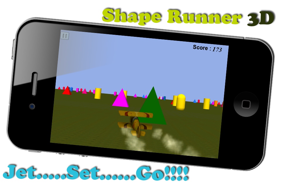 Screenshot Shape Runner 3D